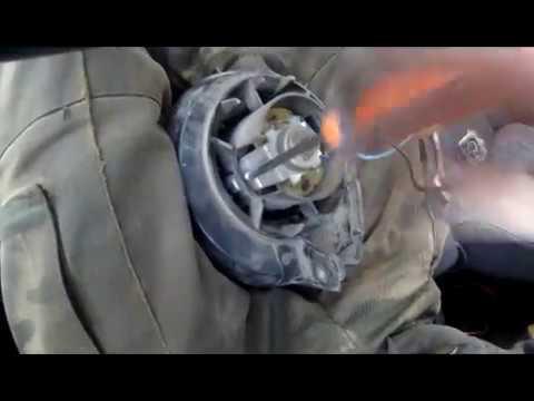 Как снять моторчик печки ваз 2109