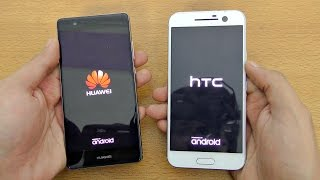 Huawei P9 vs HTC 10 - Speed Test! (4K)