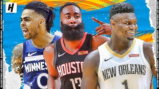 BEST PLAYS by Left Handed Players from the 2019-20 NBA Regular Season!