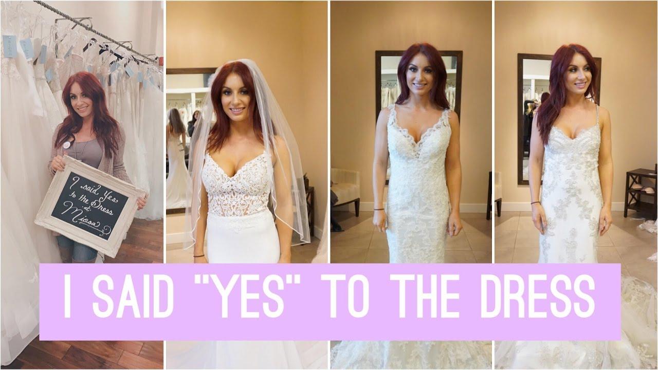 Wear to what wedding dress shopping photos