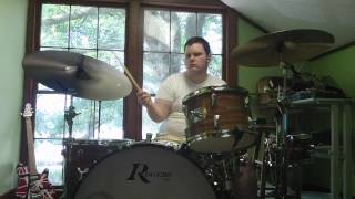 "Sabian Steve Maxwell AA 19"" Crash & 22"" Ride, 16"" Hi Hats Experiment 2"