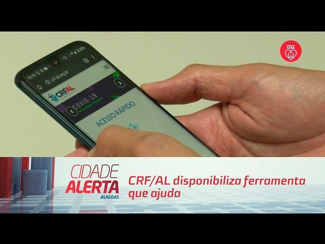 CRF/AL disponibiliza ferramenta que ajuda na busca por medicamentos
