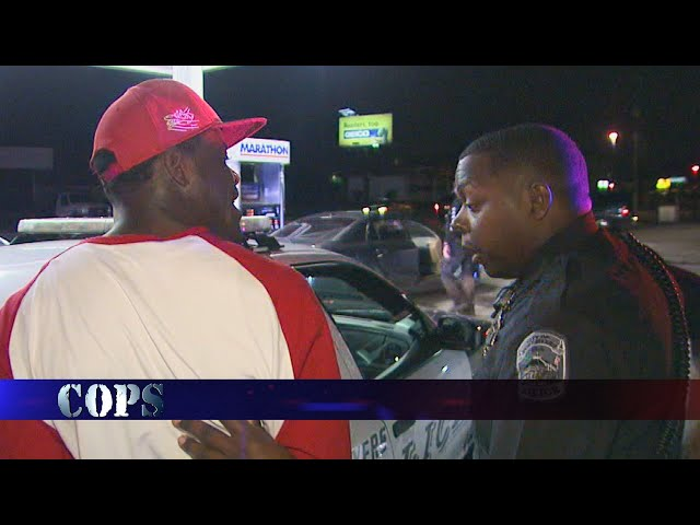 Slanging from the Socks, Web Exclusive, COPS TV SHOW