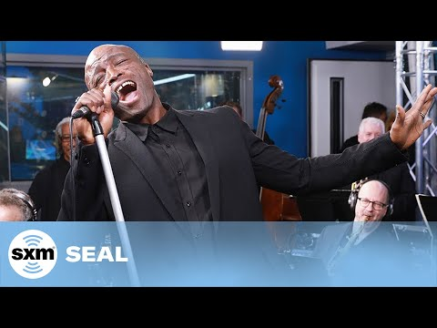 Seal brings his classic 'Kiss From A Rose' to life at the SiriusXM Studios