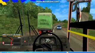 Euro Truck Simulator 2 mod Bus Indonesia