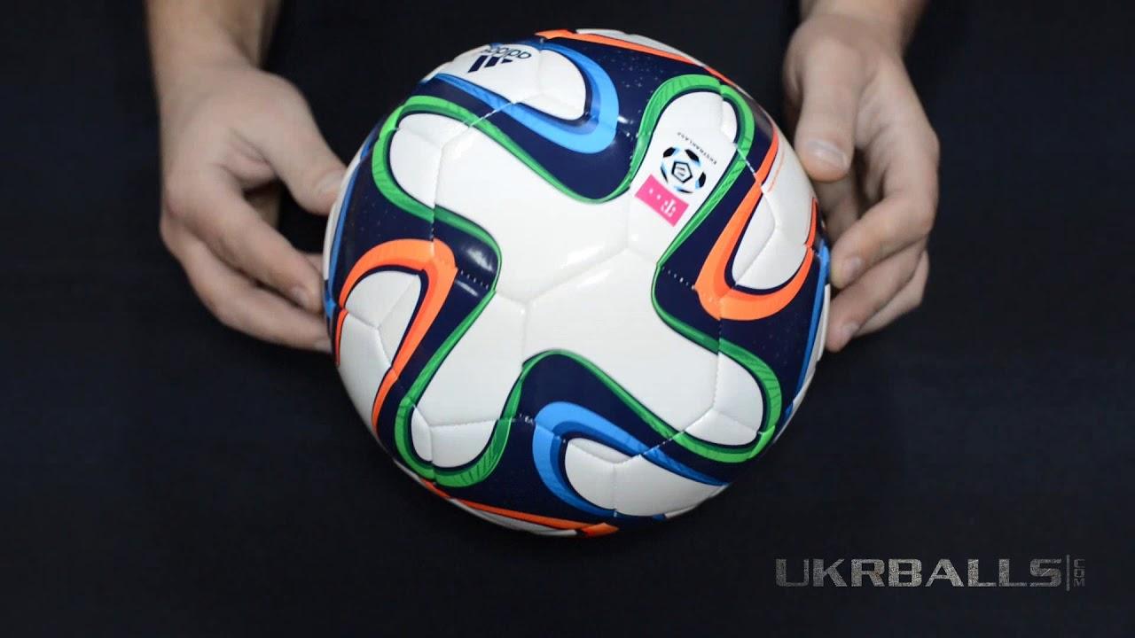KRASAVA VS BRAZUKA. Сравнение мячей - YouTube