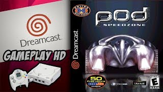 Dreamcast : POD 2 Speed Zone - Gameplay HD.