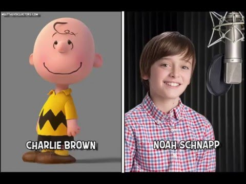 The Peanuts Movie  Snoopy and Charlie Brown  Characters And Voice Actors