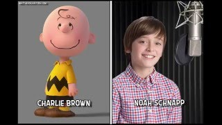The Peanuts Movie ( Snoopy and Charlie Brown ) Characters And Voice Actors