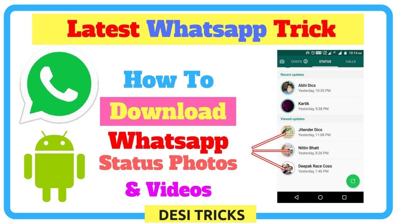 how to put video on whatsapp status