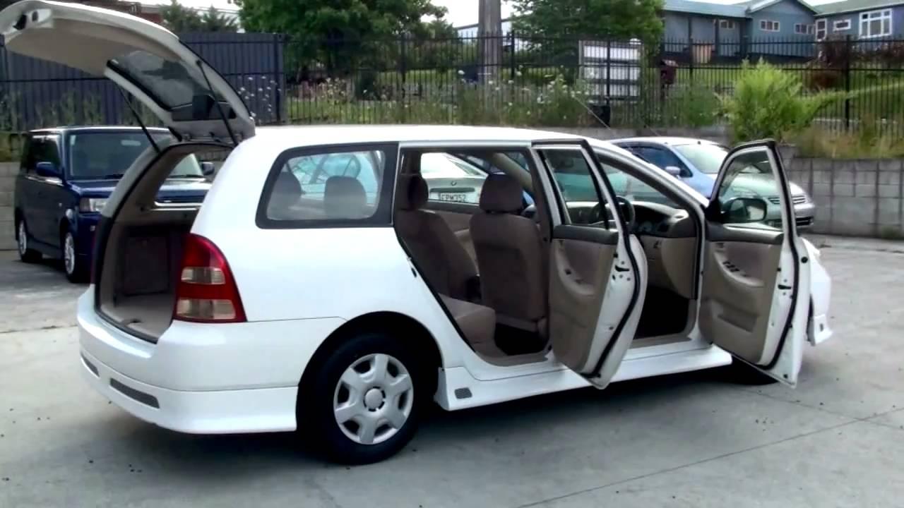 Toyota Corolla Fielder X 2001 105k 1 5l Auto Youtube