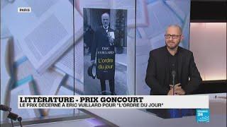 "Eric Vuillard, un prix Goncourt ""surprenant"""