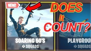 """DOES THE """"SOARING 50's"""" COUNT AS A WIN!?! NEW FORTNITE GAME MODE!?!"""