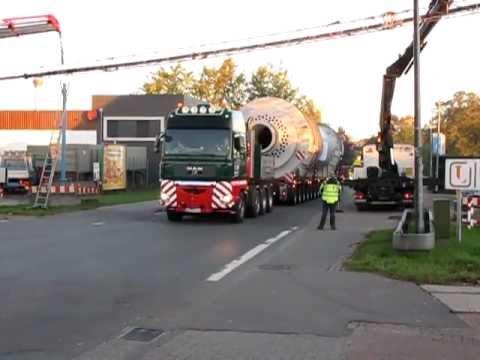 Kahl schwerlast trockner transport youtube