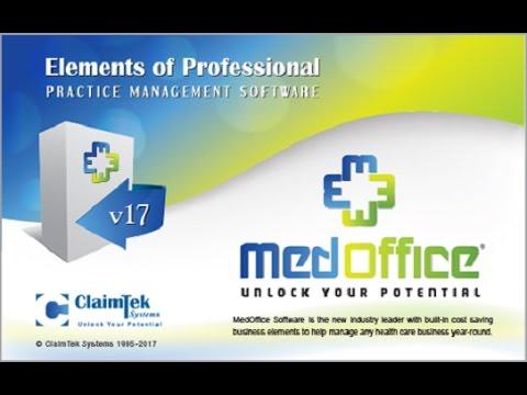 ClaimTek's MedOffice Software Demo - Medical Billing Software
