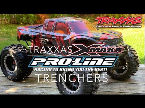 Traxxas X-Maxx (Proline Trenchers WOW!)