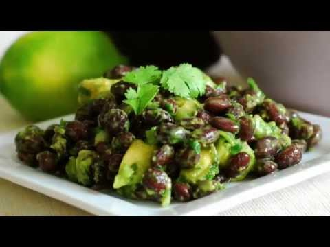 Avocado Black Bean Salad
