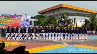 Kolone Senapan Taruna STIP Jakarta.Batch 59 Tahun 2017