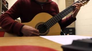 Mua ha cuoi cung (Tran Le Quynh) - Guitar