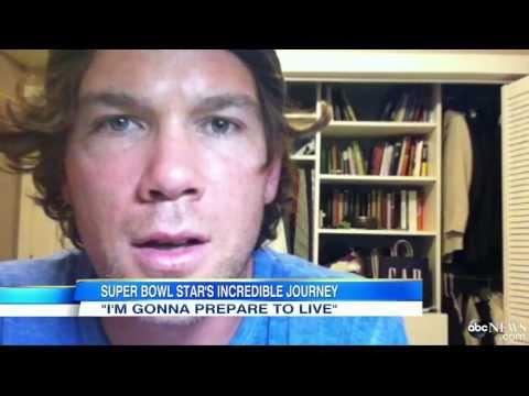 NFL Hero Battling ALS Creates Video Journal for Son