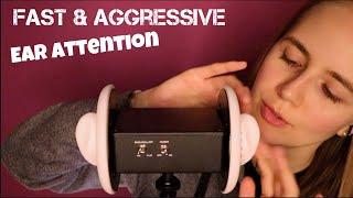 ASMR Fast & Aggressive Deep Ear Attention