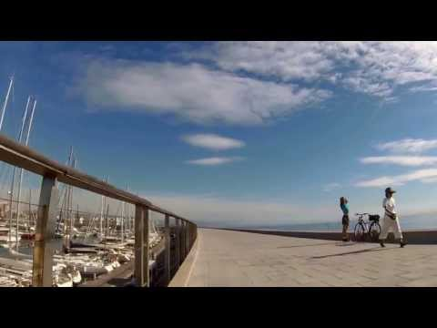 Barcelona Tour by Bicycle Cam - Beaches (Costa Barcelona)
