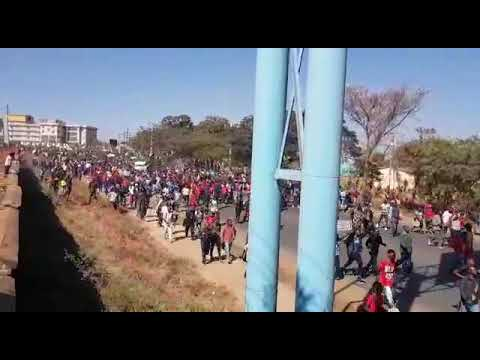 Live: Malawi 20th June 2019 Demonstrations