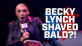 Becky Lynch shaved bald Funniest Vince McMahon stories
