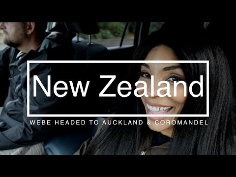 New Zealand Travel Vlog Auckland to Coromandel WeBe Part 4