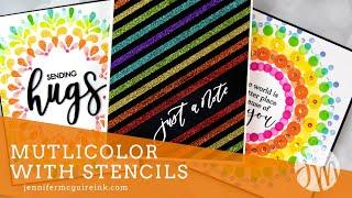 Multicolor Stencil Techniques
