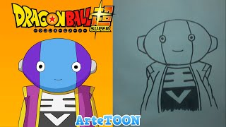 Como dibujar a Zeno sama paso a paso - Pokemon | How to draw Zeno sama