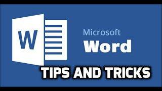 Microsoft Word 2007 2010 2013 Tips and Tricks