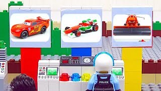 LEGO Cars Experemental Race Car, Disney Cars Toys Stop Motion Animation for Kids
