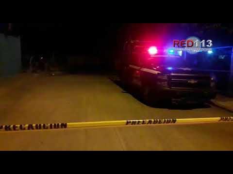 VIDEO Hombre es muerto a balazos en una vivienda de la colonia Mario Moreno