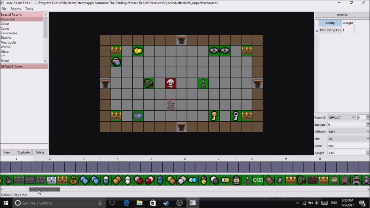 the binding of isaac afterbirth plus room editortutorial