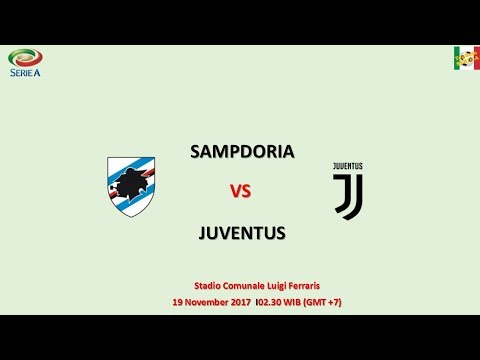Sampdoria vs juventus - serie a italia