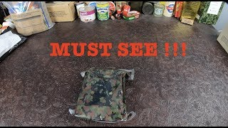NEWEST 2019 Japanese Army MRE SDF CHUCADON Ration Review !!!