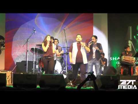 Song Sajda Shankar Mahadevan & Rasika Shekar at AURA 2015 GIT