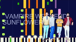 """Vampire Weekend ft. Steve Lacy - SUNFLOWER (PRO MIDI REMAKE / CHORDS) - """"in the style of"""""""