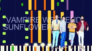 """Vampire Weekend ft. Steve Lacy - SUNFLOWER (PRO MIDI REMAKE / CHORDS) - """"in the style of"""" Video"""