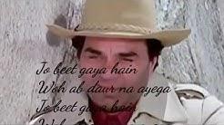 Jo Beet Gaya Hai Wo Ab Daur Na Aayega status