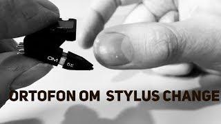 Ortofon OM5E: Stylus Replacement