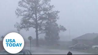 Hurricane Zeta unleashes fury on Louisiana coast | USA TODAY