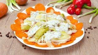 Рыба под сливочным соусом - Рецепты от Со Вкусом