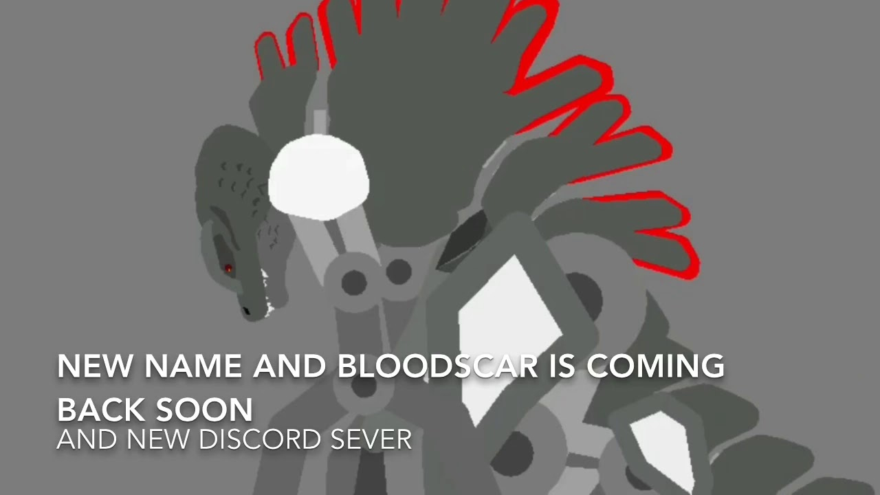 New name and new discord sever and Bloodscar is coming back soon