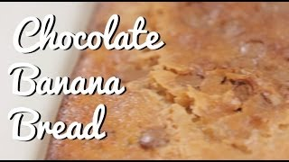 Chocolate Banana Bread Recipe - Crumbs