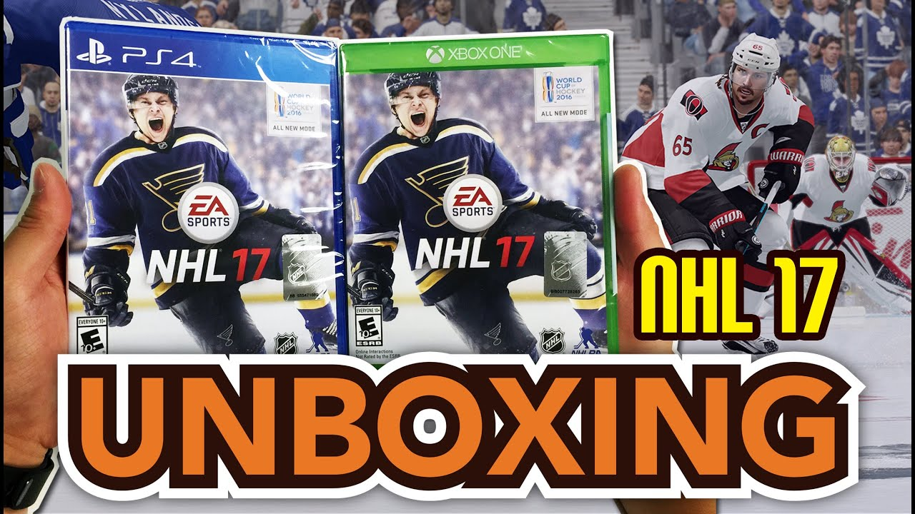 Nhl 17 Ps4 Xbox One Unboxing Youtube