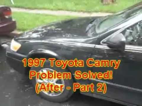 atlanta ga 1997 toyota camry ignition lock problem youtube. Black Bedroom Furniture Sets. Home Design Ideas