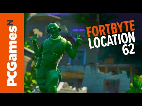 Fortnite Fortbyte 62: abandoned mansion with Stratus outfit