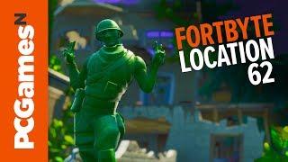 Fortnite Fortbyte guide - Number #62